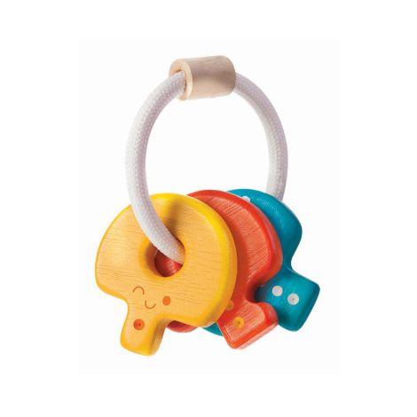 PlanToys Greifring Babyschlüssel