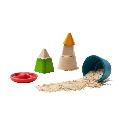 PlanToys Formenset für Sandburgen