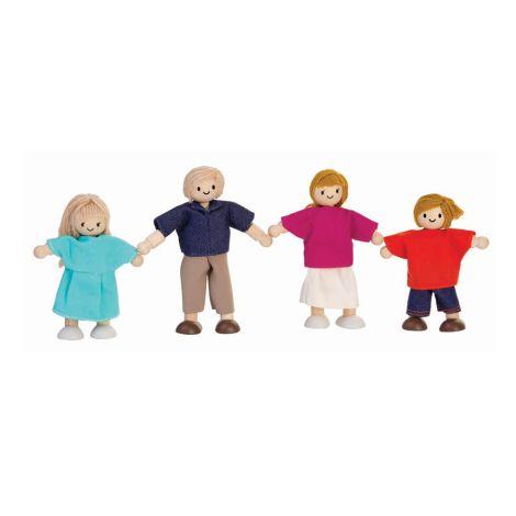 PlanToys Puppenfamilie Europa