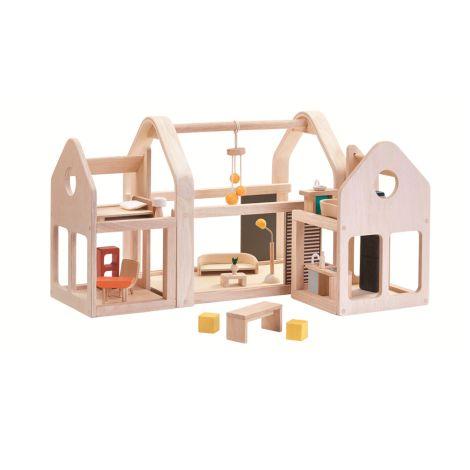 PlanToys Puppenhaus Slide N Go