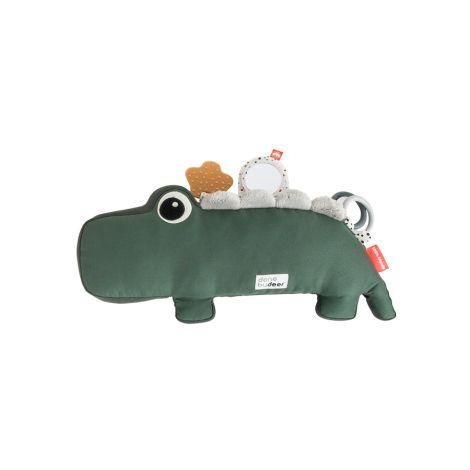 Done by Deer Activity-Kuscheltier Tummy Time Croco Green
