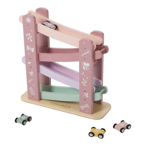 Little Dutch Holz Rennbahn Pink