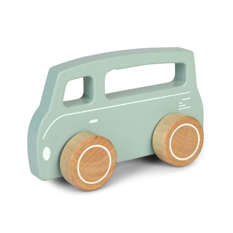 Little Dutch Holzauto Van/Bus Adventure Mint