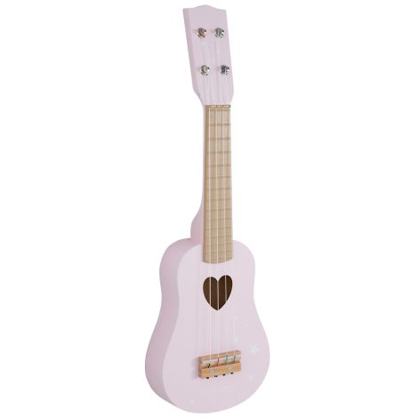 Little Dutch Gitarre Adventure Pink