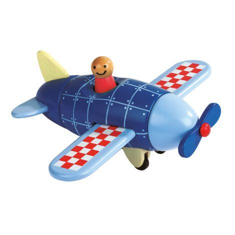 Janod Magnetbausatz Flugzeug