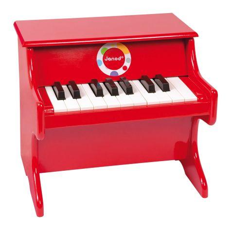Janod Klavier Rot Confetti