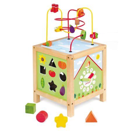 Janod Multi Aktivitäten-Tisch Garten