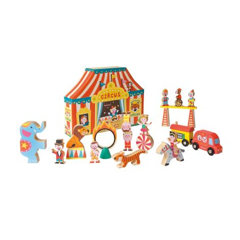 Janod Figuren Story Spielewelt Zirkus