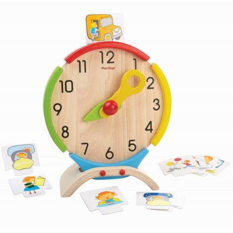 PlanToys Lernspiel Uhr