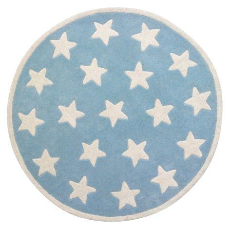 Kids Concept Teppich Star Hellblau