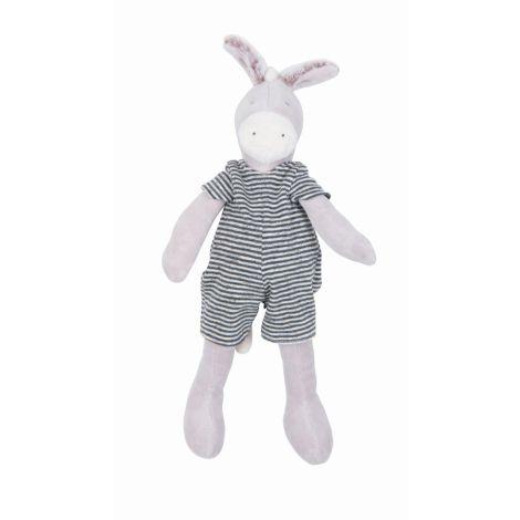Moulin Roty Kuscheltier Kleiner Esel Barnabé La Grande Famille 30 cm