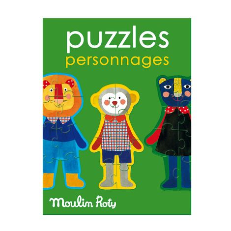 Moulin Roty Puzzle Popipop •