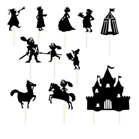 Moulin Roty Schattenspiel Ritter