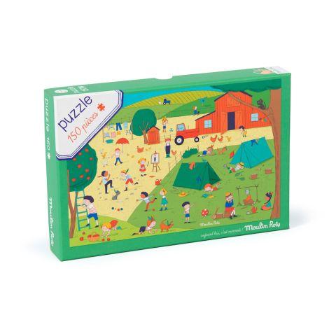 Moulin Roty Puzzle Auf dem Land 150 Teile