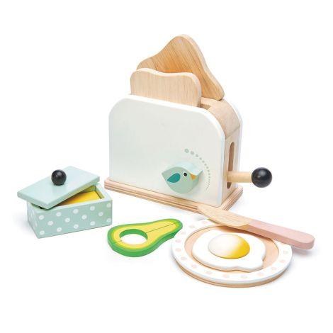 Tender Leaf Toys Toaster Weiß mit Zubehör