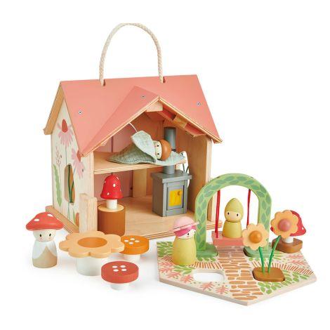 Tender Leaf Toys Puppenhaus Villa Rose