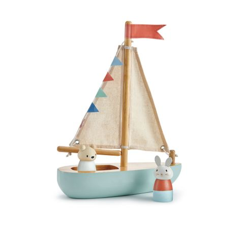 Tender Leaf Toys Segelboot
