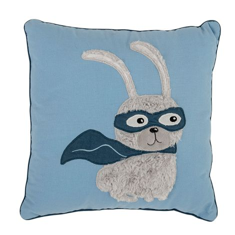 Bloomingville Kissen Rabbit Hero Blue