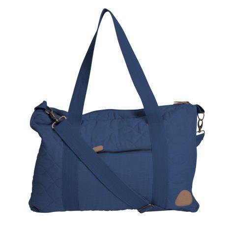Sebra Tasche mit Schultergurt Gesteppt Royal Blue •