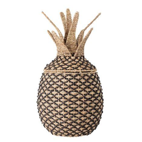 Bloomingville Korb mit Deckel Ananas