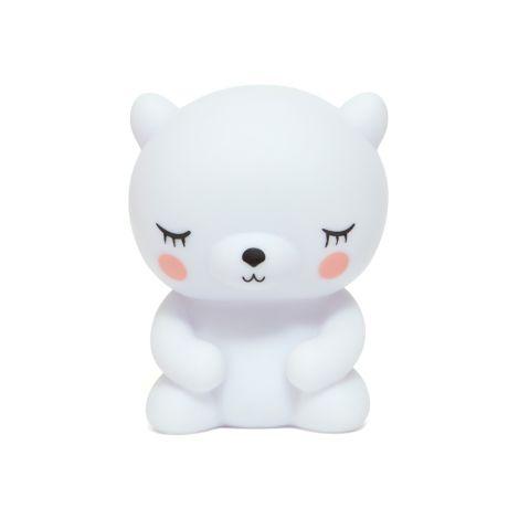 Petit Monkey Nachtlicht Eisbär Weiß