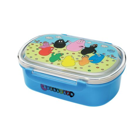 Petit Jour Paris Lunchbox Brotdose Barbapapa Blau