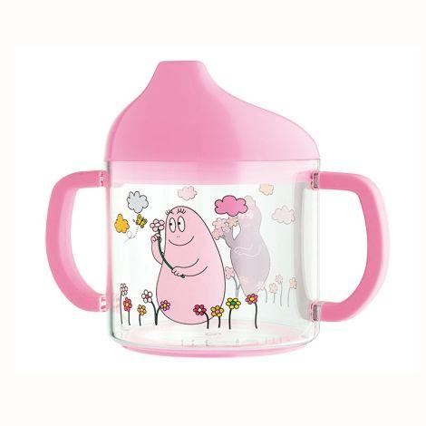 Petit Jour Paris Schnabeltasse Barbapapa Pink •