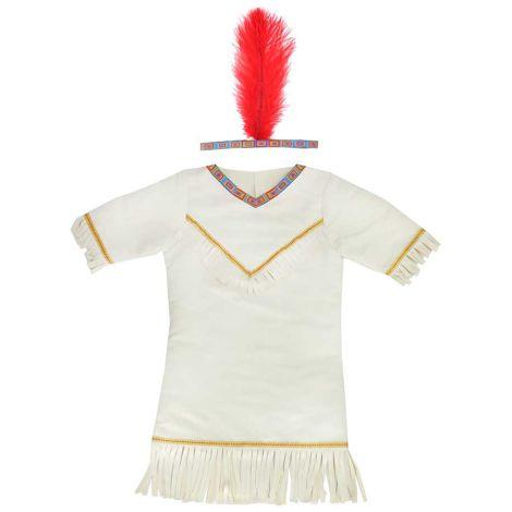 Kostüm-Set Indianerin 4-6 Jahre