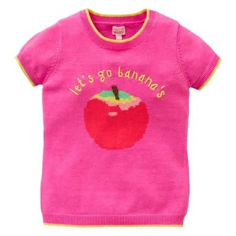 Room Seven Strick-Shirt Kwin/Bananas Pink