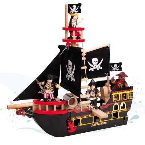 Le Toy Van Barbarossa Piratenschiff