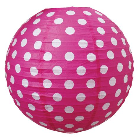 JaBaDaBaDo Papierlampenschirm Pink 40cm