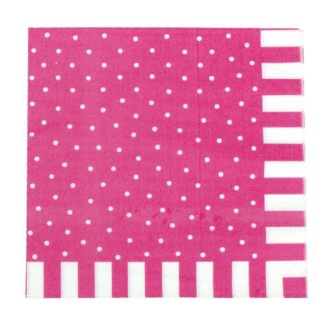 JaBaDaBaDo Party Papier-Servietten Pink