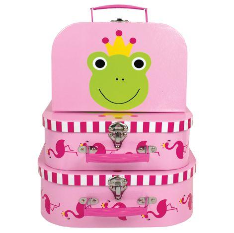 JaBaDaBaDo Koffer Frosch 3er Set
