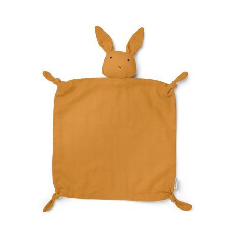 LIEWOOD Schmusetuch Agnete Rabbit Mustard