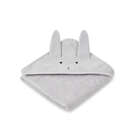 LIEWOOD Kapuzenhandtuch Albert Rabbit Dumbo Grey
