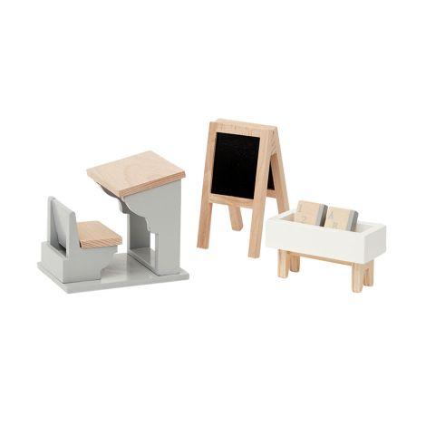 byASTRUP Puppenhausmöbel Schule Klassenzimmer