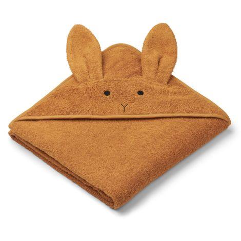LIEWOOD Kapuzenhandtuch Augusta Rabbit Mustard