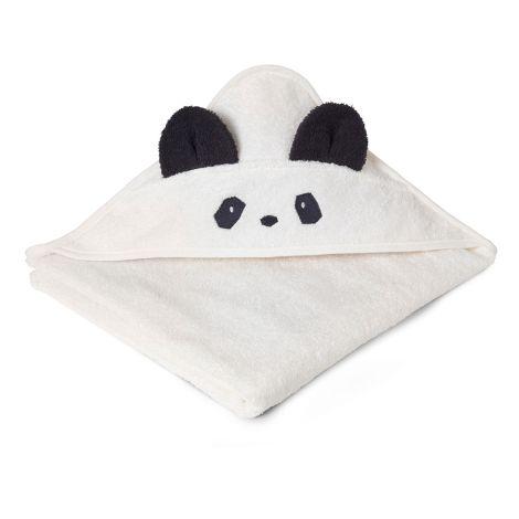 LIEWOOD Kapuzenhandtuch Augusta Panda Creme de la Creme