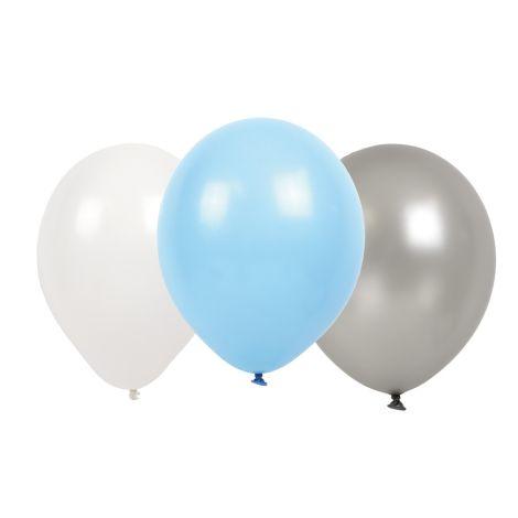 JaBaDaBaDo Luftballons Hellblau 9er-Set