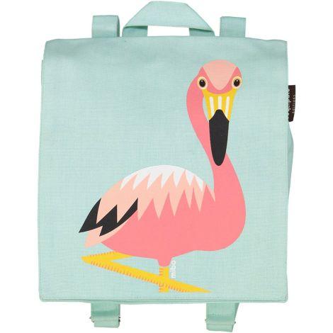 Coq en Pâte Rucksack MIBO Flamingo Hellblau •