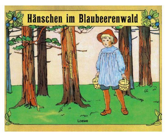 Hänschen im Blaubeerwald, Elsa Beskow