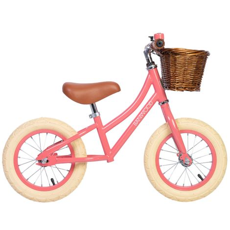 Banwood Laufrad Balance Bike 'First Go' Coral