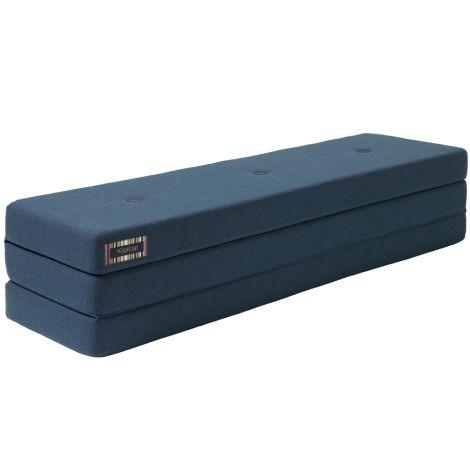by KlipKlap KK 3 fold Matratze XL 200 cm Dark Blue/Black