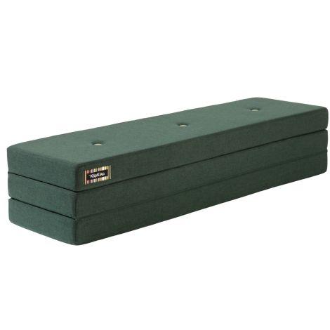 by KlipKlap KK 3 fold Matratze XL 200 cm Deep Green/Light Green