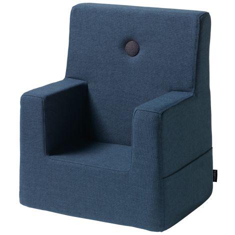 by KlipKlap KK Kids Chair Sessel Dark Blue/Black