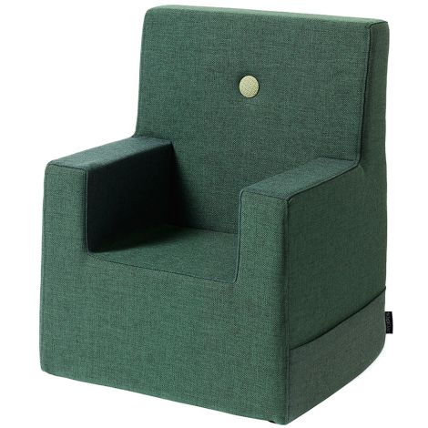 by KlipKlap KK Kids Chair Sessel XL Deep Green/Light Green