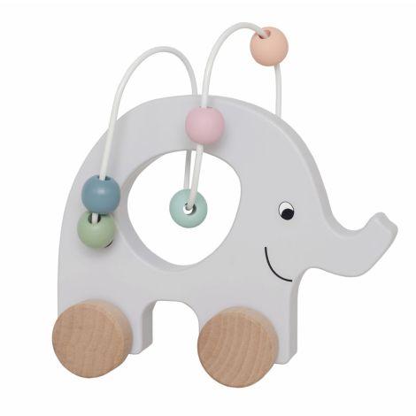 JaBaDaBaDo Ziehtier Elefant mit Perlen Labyrinth