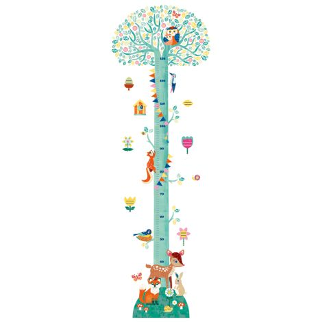 Djeco Messlatte Sticker Blossoming Tree