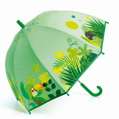 Djeco Regenschirm Tropischer Dschungel
