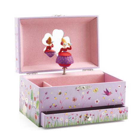 Djeco Schmuckkästchen mit Spieluhr Princess